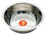 Petface Stainless Steel Bowl Non Slip Large