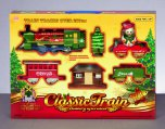 Premier Decorations Battery Operated Train Set with Headlight (14 Piece Set)