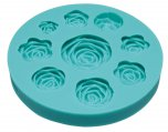Sweetly Does It Roses Silicone Fondant Mould, 10cm