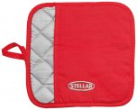 Stellar Pot Holder Red / Silver 20cm