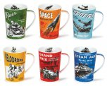 Dunoon Argyll Shape Fine Bone China Mug - Dare Devils