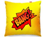 Kico Comic Pop Art 45x45cm Funky Sofa Cushion -  Bang