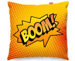 Kico Comic Pop Art 45x45cm Funky Sofa Cushion -  Boom!