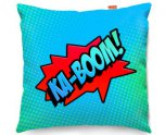 Kico Comic Pop Art Ka-Boom Funky Sofa Cushion 45x45cm