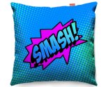 Kico Comic Pop Art 45x45cm Funky Sofa Cushion -  Smash!