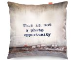 Kico Banksy 45x45cm Funky Sofa Cushion -  Photo Opportunity