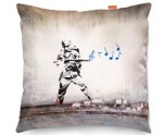 Kico Banksy 45x45cm Funky Sofa Cushion -  Soldier