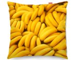 Kico Food & Drink 45x45cm Funky Sofa Cushion -  Bananas