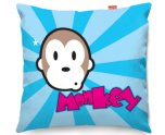 Kico Kids Stuff 45x45cm Funky Sofa Cushion - Monkey