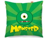 Kico Kids Stuff 45x45cm Funky Sofa Cushion - Monster