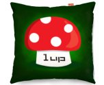 Kico Gaming 45x45cm Funky Sofa Cushion - 1up Mushroom