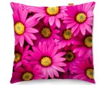 Kico Nature 45x45cm Funky Sofa Cushion - Pink Daises