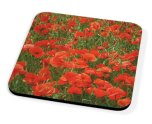 Kico Flower Coaster - Poppies