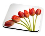 Kico Flower Coaster - Red Tulips