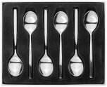 Stellar Cutlery Rochester Tea Spoons (Set of 6)