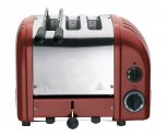 Dualit Combi 2+1 Toaster Red 31214