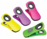 KitchenCraft Magnetic Memo Clips, Set of 4