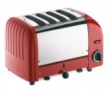 Dualit Classic Toaster 4 Slice Red 40353