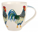 Queens By Churchill Couture Paradise Birds Crush Mug 500ml - Rooster