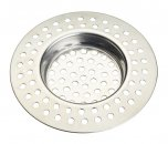 KitchenCraft Stainless Steel Large Hole Sink Strainer 7.5cm