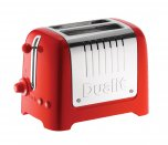 Dualit 2 Slot Lite Toaster in Red