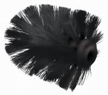 Blue Canyon Spare Toilet Brush Head Black