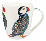 Queens By Churchill Couture Paradise Birds Crush Mug 500ml - Puffin