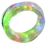 Festive Battery Operated Tube Light 7.6M - Multicoloured