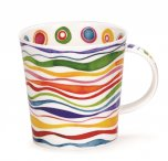 Dunoon Cairngorm Shape Fine Bone China Mug - Ripple