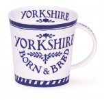 Dunoon Cairngorm Shape Fine Bone China Mug - Yorkshire Born & Bred