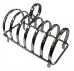 Grunwerg Chrome Plated 6 Slice Toast Rack