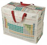 Rex Periodic Table Design Jumbo Storage Bag