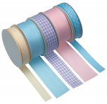 Sweetly Does It Cake Decorating Ribbon Pastel Colours 5 x 2m
