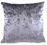 Evans Lichfield Bling Cushion 43cm Pewter