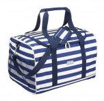KitchenCraft We Love Summer Lulworth Jumbo Family Cool Bag Blue 30 Ltr