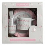 Sophie Allport Childrens Melamine Set - Flamingos