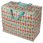 Rex Mid Century Poppy Jumbo Storage Bag