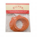 Kilner Replacement Clip Top Jar Rubber Seals (Pack of 6) - Small