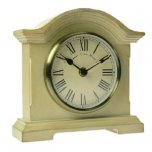 Towcester Clock Works Co. Falkenburg Series Mantel Clock Cream