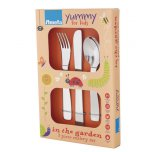 In The Garden 3 Piece Cutlery Set