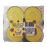 Price's Citronella Maxi Tea Lights (Pack of 4)