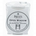 Price's Fresh Air Scented Candle Jar - Open Window