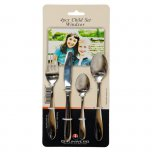 Grunwerg Cutlery Windsor Pattern Children's Cutlery Set (4 Pce)