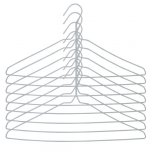 Russel White Wire Drip Drys (Set of 8)