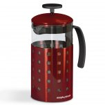 Morphy Richards Accents 8 Cup Cafetiere Red