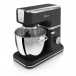 Swan Retro Stand Mixer with Bowl - Black