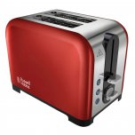 Russell Hobbs Canterbury 2 Slice Toaster Red