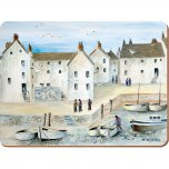 Creative Tops Premium Cornish Harbour Standard Placemats (Set of 6)