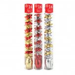 Festive Wonderland Luxury Accessory Tube (Pack of 14) - Traditional Colours