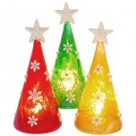 Shudehill Giftware Frosted LED Tree Small - Assorted